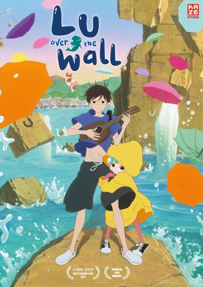 "Film Plakat ""Lu over the wall"""