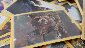 Stickerheft ,,The Avengers – Infinity War""
