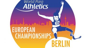 Das offizielle Logo der World Para Athletics European Championships Berlin 2018